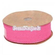 Medžiaginė juostelė, rožinė spalva