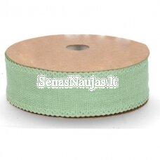 Medžiaginė juostelė, šviesi žalia spalva