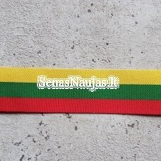 Megzta juosta lietuviška trispalvė