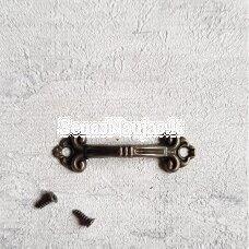 Metalinė rankenėlė su varžčiukais