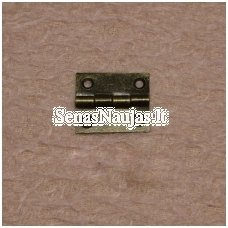 Metal hinge with screws, 1 piece