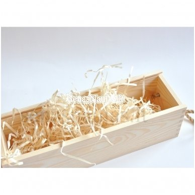 Medienos plaušai, dėžių užpildas, 100 g 2