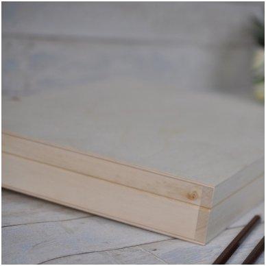 Medinė dėžė A4 formato popieriui 4
