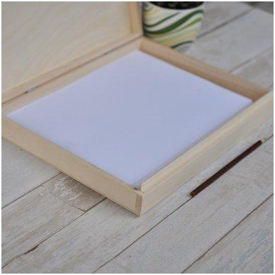 Medinė dėžė A4 formato popieriui 5