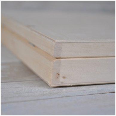 Medinė dėžė A4 formato popieriui 6