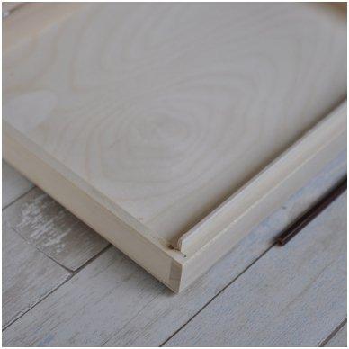 Medinė dėžė A4 formato popieriui 8