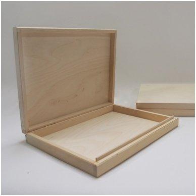 Medinė dėžė A4 formato popieriui 3