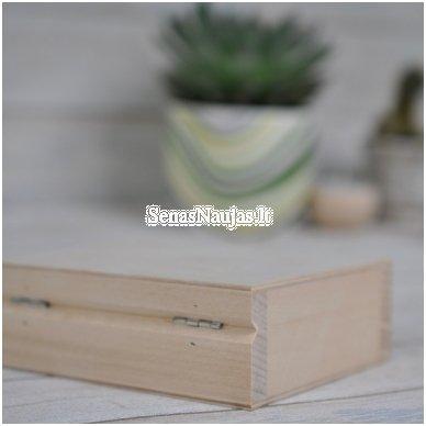 Medinė dėžutė, nedidelė 3