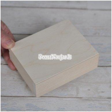 Medinė dėžutė, nedidelė 2