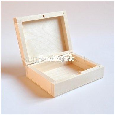 Medinė dėžutė, nedidelė 4