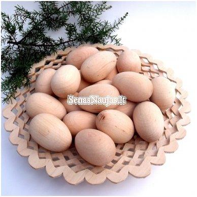 Medinis kiaušinis (vištos kiauš. dydžio), 1 vnt.