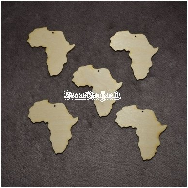 Medinis pagrindas auskarui, pakabukui, 1 vnt. AFRIKA