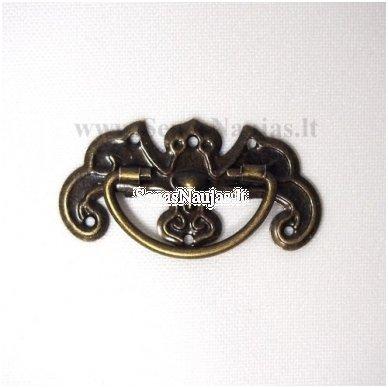 Metalinė rankenėlė (be vinukų)