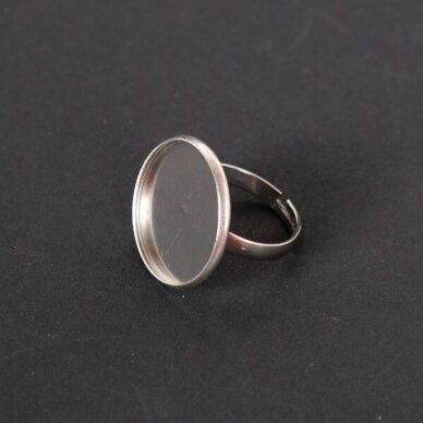 Metalinis pagrindas žiedui, 1 vnt.