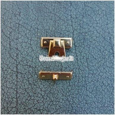 Įkalamas metalinis užsegimas, aukso spalvos 2