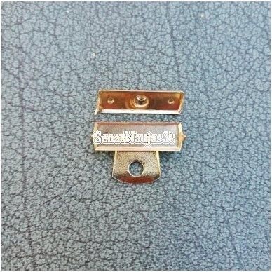 Įkalamas metalinis užsegimas, aukso spalvos 3