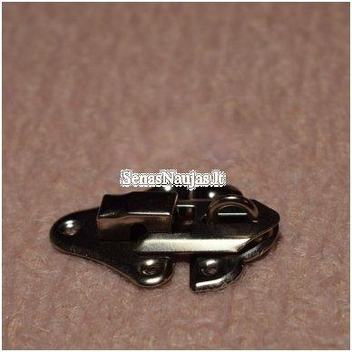 Metalinis užsegimas spynelei be varžčiukų 2