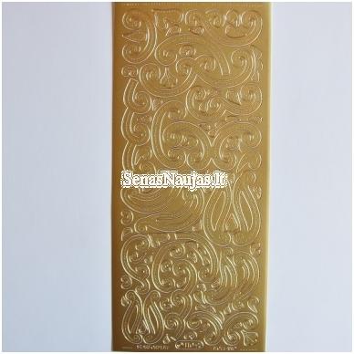 Peel of lipdukai, aukso spalva 2