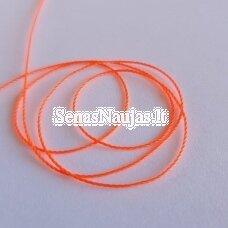 Plona sintetinė virvutė, ryški morkinė spalva