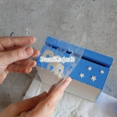 Plastikinis trafaretas KALĖDOS 5