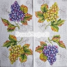 Paper napkin GRAPE VINE, 1 piece