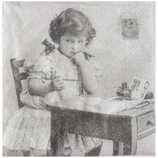 Popierinė servetėlė (¼ foto)