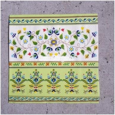 Popierinių servetėlių rinkinys (smulkūs motyvai) 2