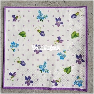 Popierinių servetėlių rinkinys (smulkūs motyvai) 3