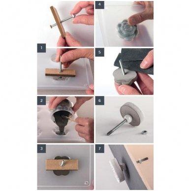 Priedai rankenėlėms gaminti 2
