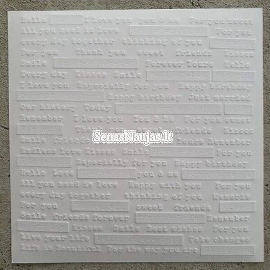 Reljefinio popieriaus rinkinys 8