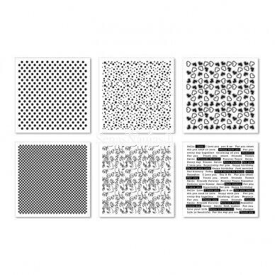 Reljefinio popieriaus rinkinys 2
