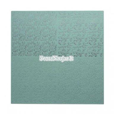 Reljefinis, metalo spindesio popierius 4