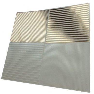 Reljefinis, metalo spindesio popierius