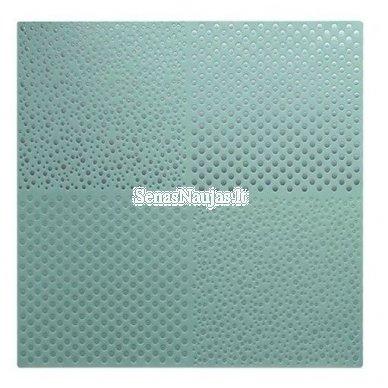 Reljefinis, metalo spindesio popierius 2