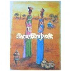 Ryžinė servetėlė AFRIKA, RYTŲ MOTYVAI
