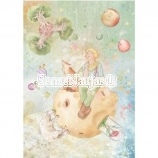 Rice paper for decoupage THE LITTLE PRINCE