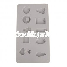 Silicone casting mould Pendants