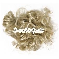 Sintetiniai plaukai, šviesūs