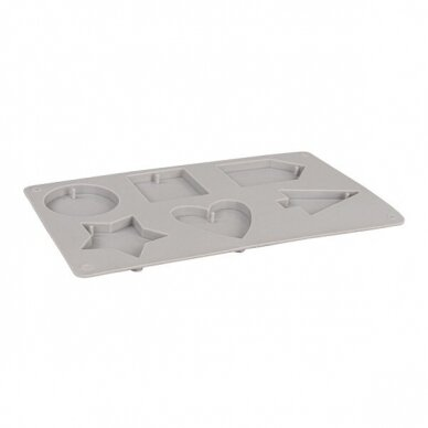 Silicone casting mould Decorative shapes 4