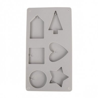 Silicone casting mould Decorative shapes