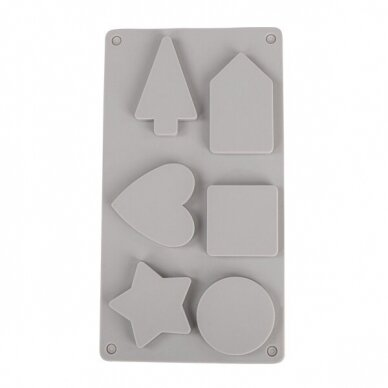 Silicone casting mould Decorative shapes 2