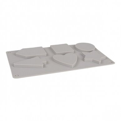 Silicone casting mould Decorative shapes 3