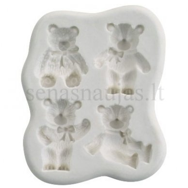 Silicone flexible mould