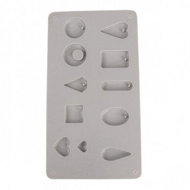 Silicone casting mould Pendants