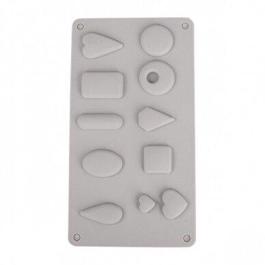 Silicone casting mould Pendants 2