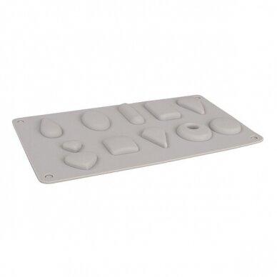 Silicone casting mould Pendants 4