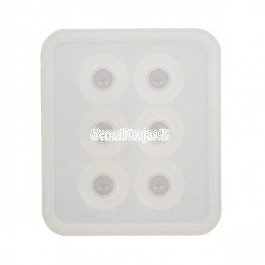 Silicone casting mould BEADS 2