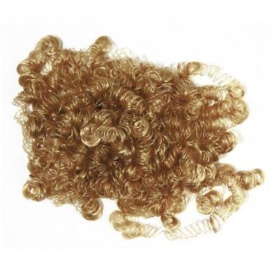 Sintetiniai plaukai, šviesiai rudi