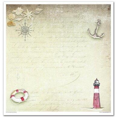 Skrebinimo popieriaus rinkinys JŪRINIAI MOTYVAI 6