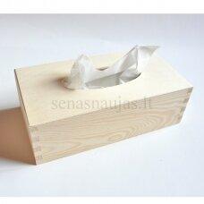 Stačiakampė dėžutė servetėlėms